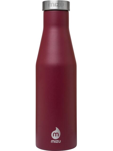 MIZU S4 Insulated Bottle with Stainless Steel Cap 400ml Enduro Burgundy